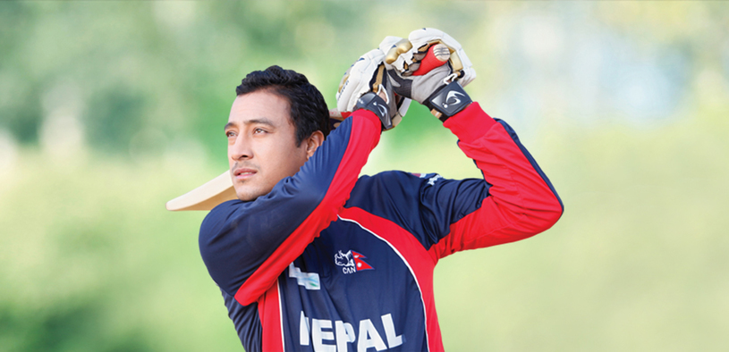 Paras khadka cricket