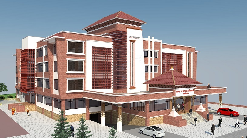 Butwal new building 3d map
