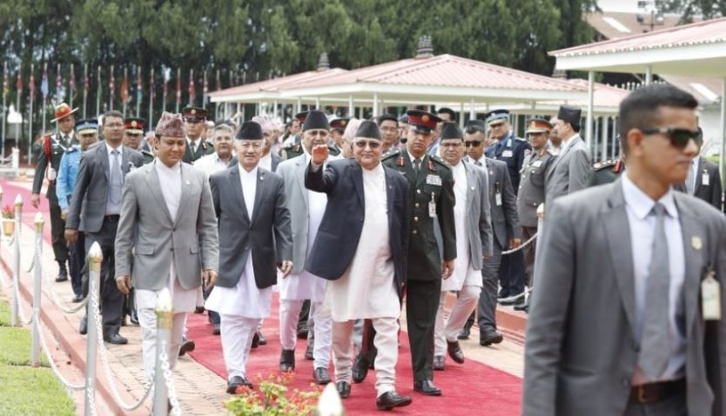 Pm returns nepal 3
